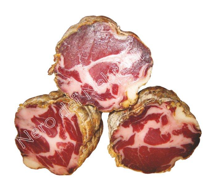 Coppa de porc noir des Nébrodes