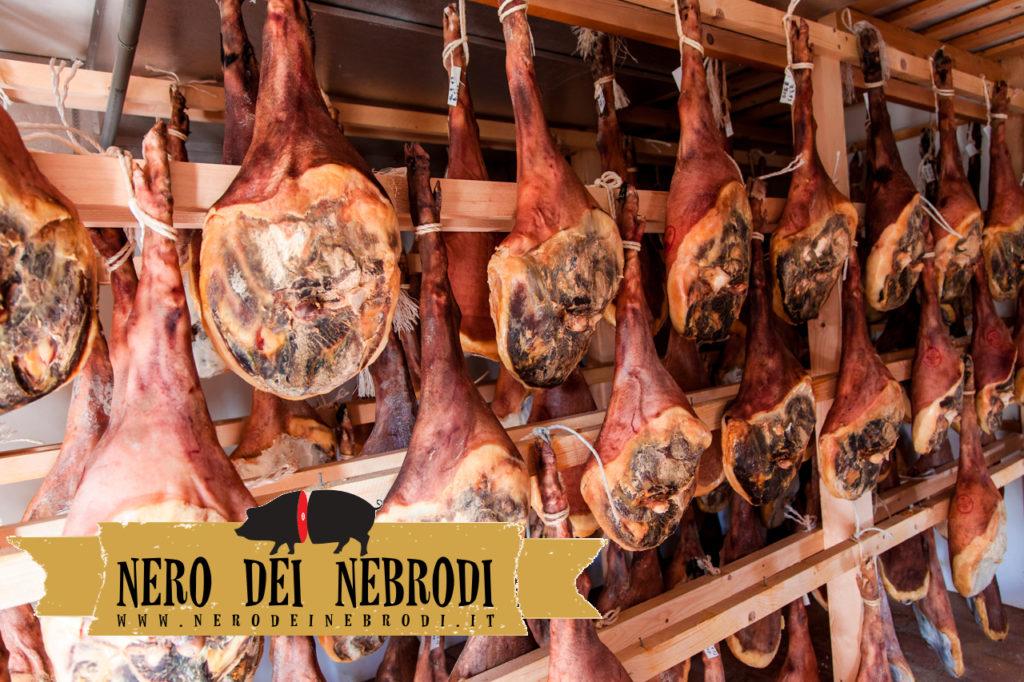 Jambon de porc noir des Monts Nebrodi